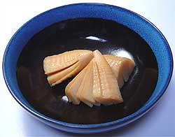 竹の子の含め煮